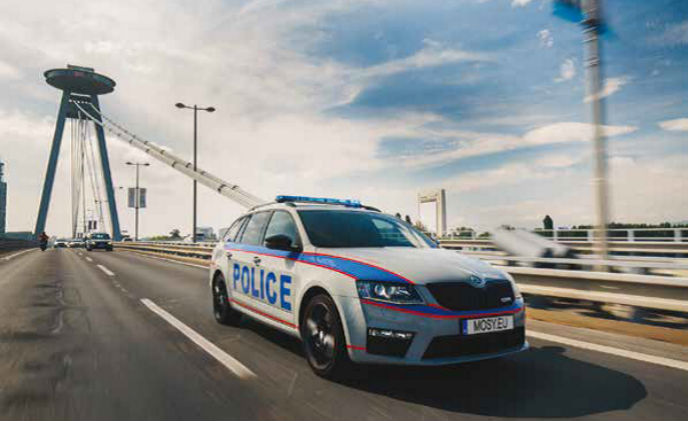 Axis helps create intelligent police cars
