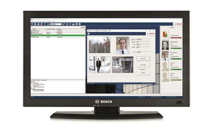 Bosch gives access control software a new look and feel