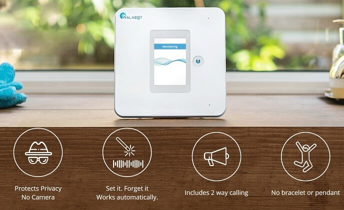 Walabot Home is a non-intrusive fall detector for the elderly