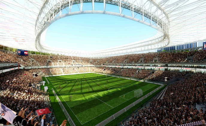 Geutebruck secures Vodafone Arena in Instanbul