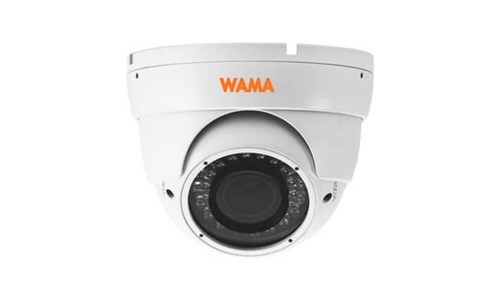 WAMA adds new 4MP H.265 vari-focal intelligent IP cameras