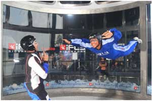 Singapore Wind Tunnel Skydiving Simulator Uses Milestone Open Platform to Integrate
