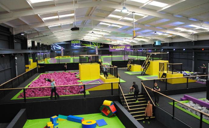 Genie CCTV provides surveillance for trampoline park in England