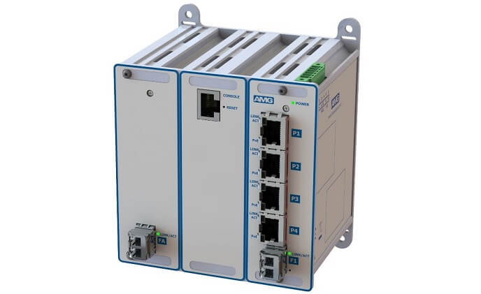 AMG launches 90W PoE switches for high functionality CCTV applications