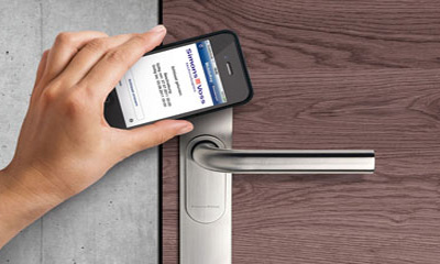 SimonsVoss promotes NFC access solution MobileKey