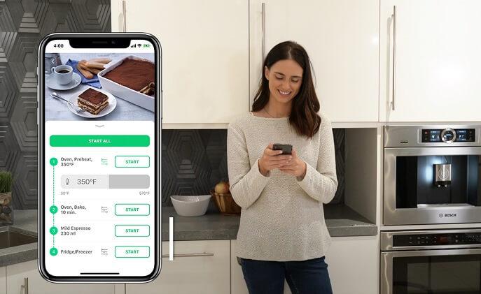 chefling bosch home connect. Black Bedroom Furniture Sets. Home Design Ideas
