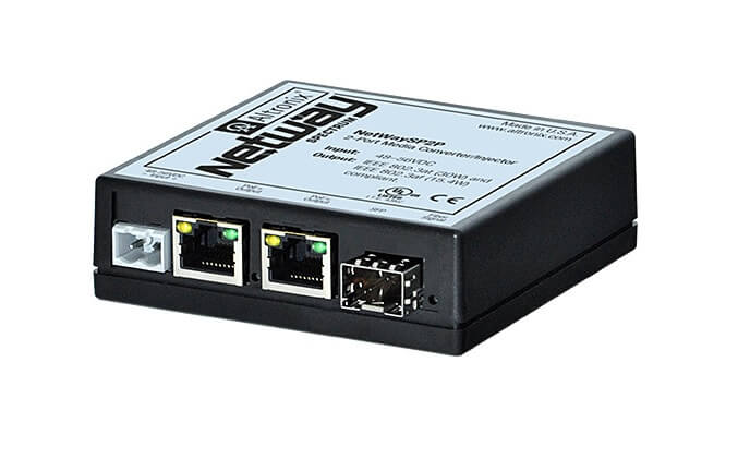 Altronix introduces the NetWay Spectrum 2-port media converter/injector