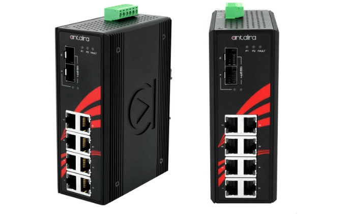 Antaira launches LNX-1002G-10G-SFP Gigabit 10-Port unmanaged switch
