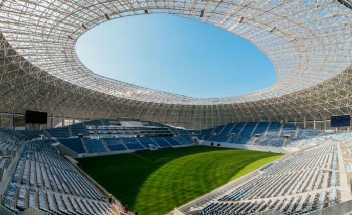 Bosch equips Craiova Stadium with premium safety and security systems