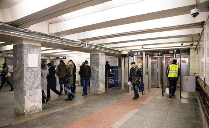 Axis IP cameras monitor radiation at Moscow subway