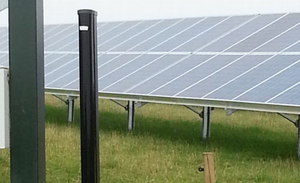 Herefordshire solar farm installed Optex sensors to reduce false alarms