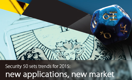 Security 50 sets trends for 2015: new applications, new market
