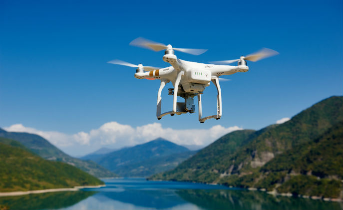 Stronger awareness with drones and drone detection