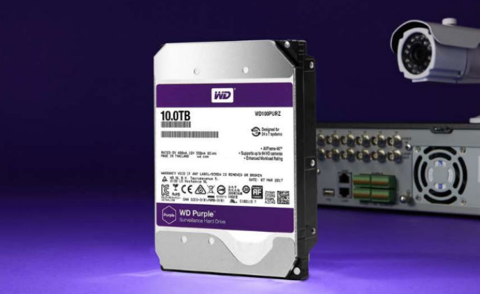 WD increases capacity of surveillance-class hard drives to 10TB