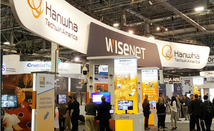 Hanwha Techwin participates in the largest U.S. Security Expo, ISC West 2018