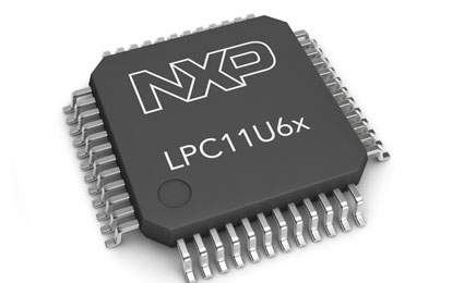NXP releases a new microcontrollers LPC11U6x