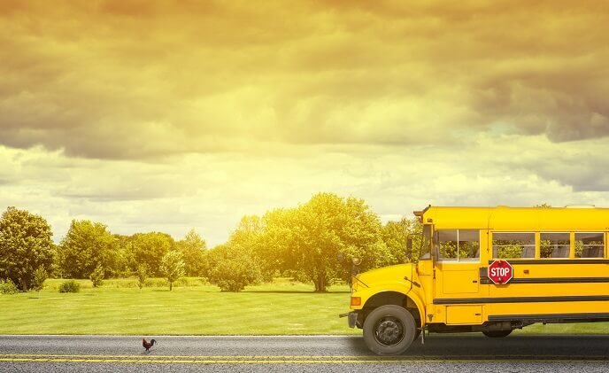 How technology is making school buses safer
