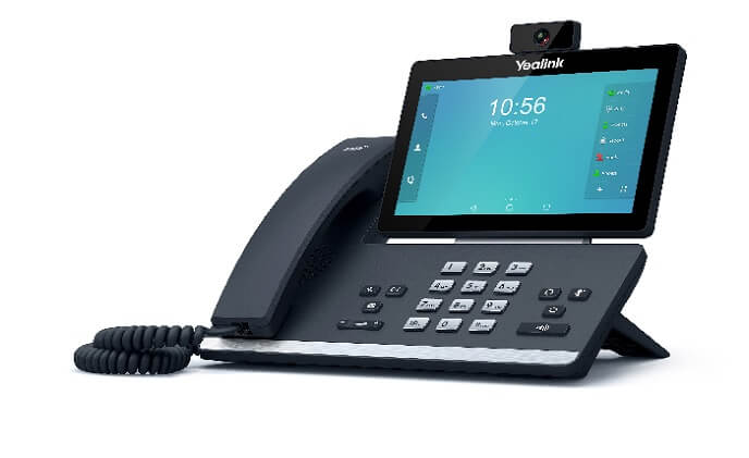 Yealink T5 smart media phones compatible with Baudisch's IP intercoms