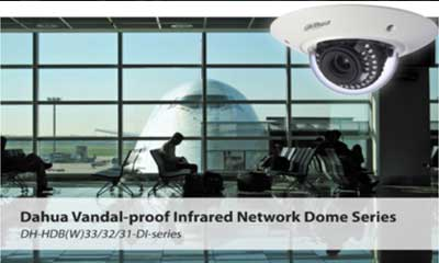 Dahua releases vandal-proof IR network dome camera series