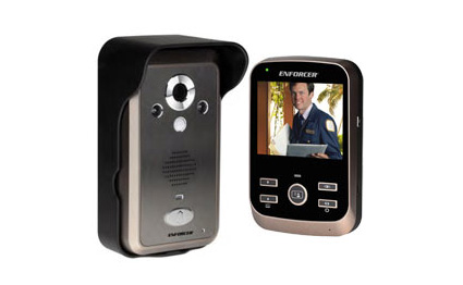[SMAhome Int'l Exhibition] ENFORCER Wireless video door phone watches over home