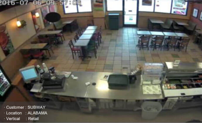 Alabama Subway franchises solve theft problems with Hanwha video solutions