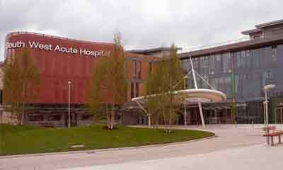 Honeywell integrated  IP,analogue and DVR systems  for South West Acute Hospital