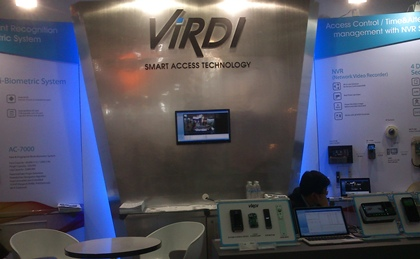 [Secutech2014] Korea30: ViRDI showcases fake fingerprints detection tech
