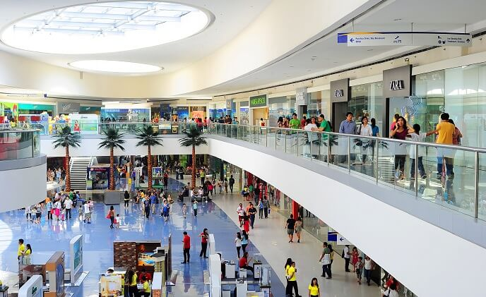Asian shopping malls becoming multifunctional spaces