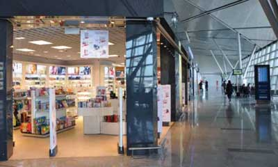 Axis provides IP surveillance for Russian duty free shops at Vnukovo airport