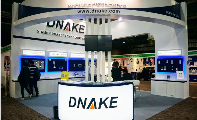 DNAKE offers Android-based connected video intercoms for the smart home