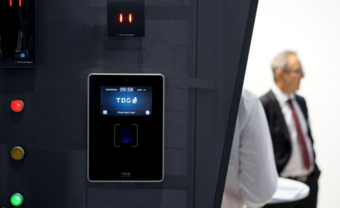 TBS fingerprint readers and Nedap's AEOS technology for university