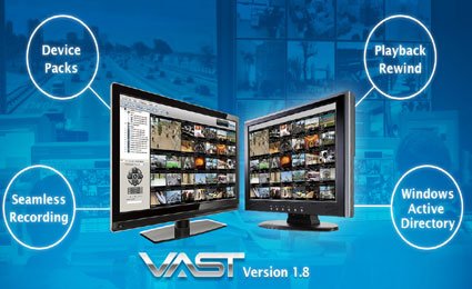 VIVOTEK releases central management software VAST 1.8 version