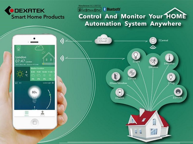 Dexatek ΣCASA makes complete smart home ecosystem