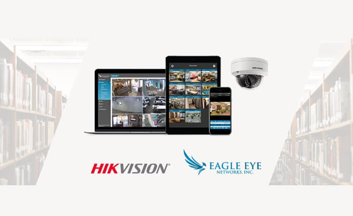 Hikvision UK and Eagle Eye Networks announce technology partnership
