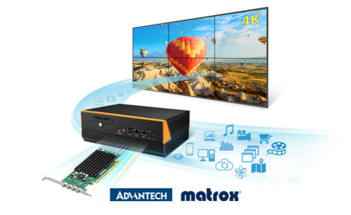 Advantech and Matrox expand relationship for video wall solutions