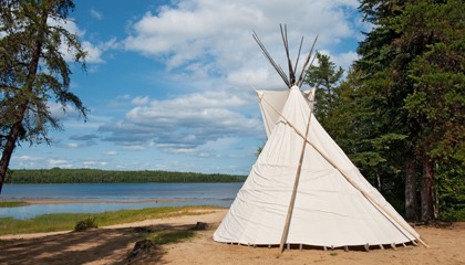 Canadian aboriginal center protects cultural heritage discreetly