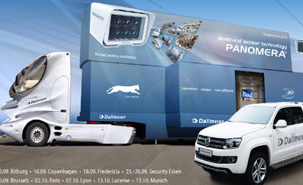 Dallmeier partners Johanns Systemhaus to present at Panomera Truck