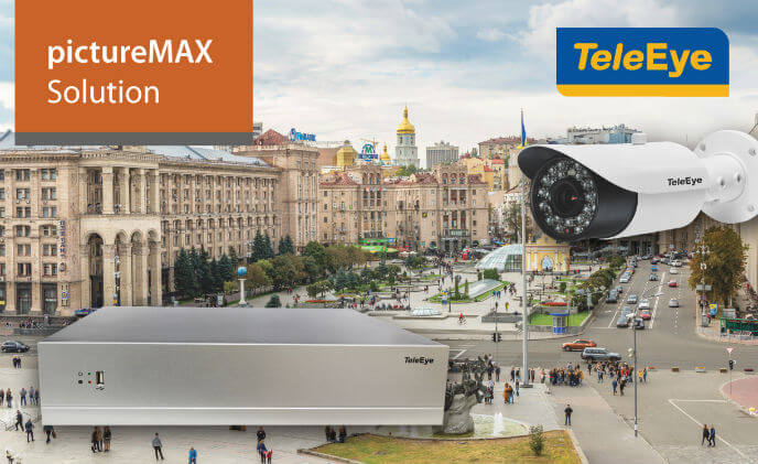 TeleEye's pictureMAX Solution delivers ultra-high definition video images