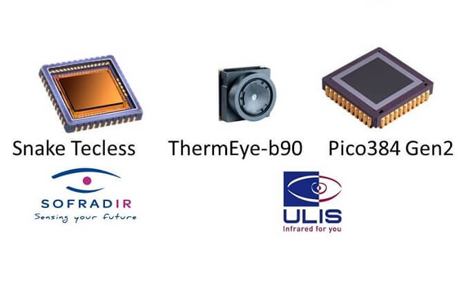 ULIS -  thermal sensor technology for security and surveillance