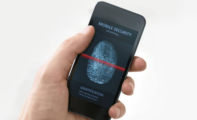 What is the most used mobile biometric?