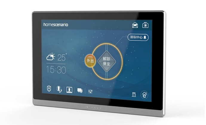HomeScenario android indoor intercom station