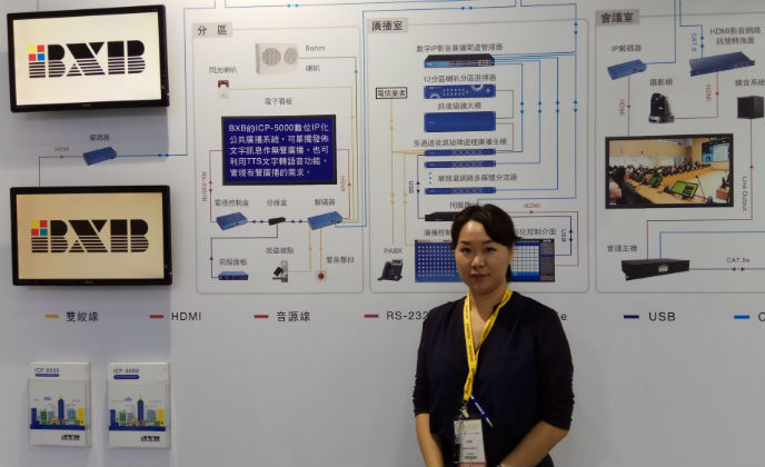 BXB Electronics showcase new solutions for communication
