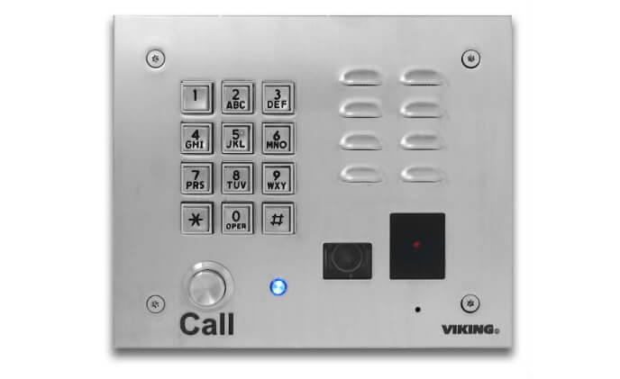 Viking Electronics releases VoIP entry phone and access control system