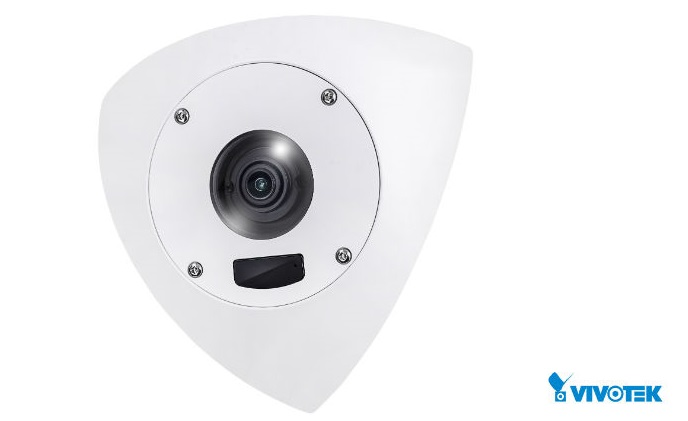 VIVOTEK announces robust anti-ligature corner dome camera for correctional environments