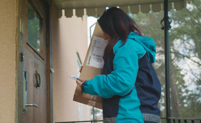 ASSA ABLOY digital lock enables secure in-home delivery