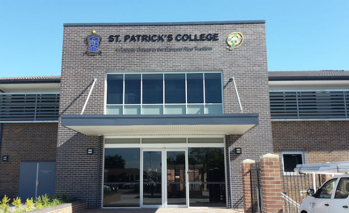 Keyless access control for St Patrick's College