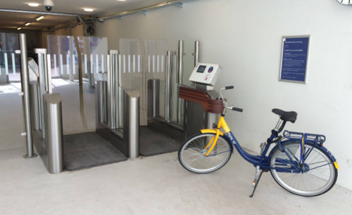 Bicycle infrastructure in the Netherlands improved with Siemens technology