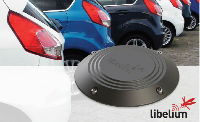 Libelium presents at Intertraffic a new enhanced smart parking sensor node