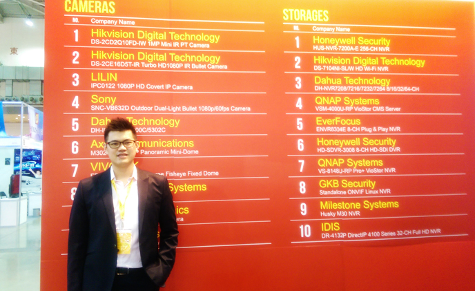 Afidus features IP at Secutech