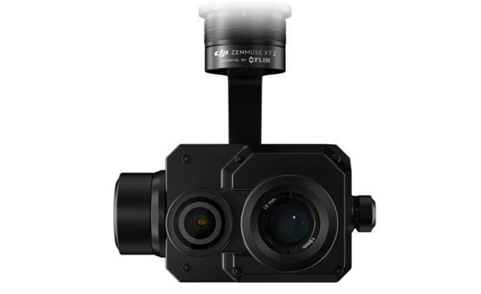 FLIR provides thermal imaging for DJI Zenmuse XT2 dual-sensor drone camera